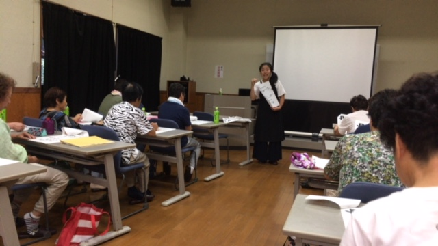 地方自治体・健康ワークショップの運営(第四回)